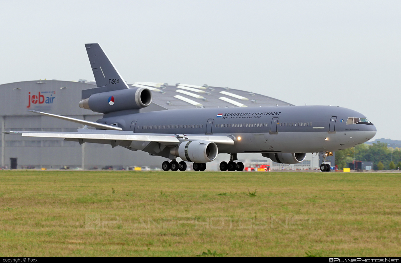 McDonnell Douglas KDC-10 - T-264 operated by Koninklijke Luchtmacht (Royal Netherlands Air Force) #dc10 #kdc10 #koninklijkeluchtmacht #mcdonnelldouglas #natodays #natodays2015 #royalnetherlandsairforce