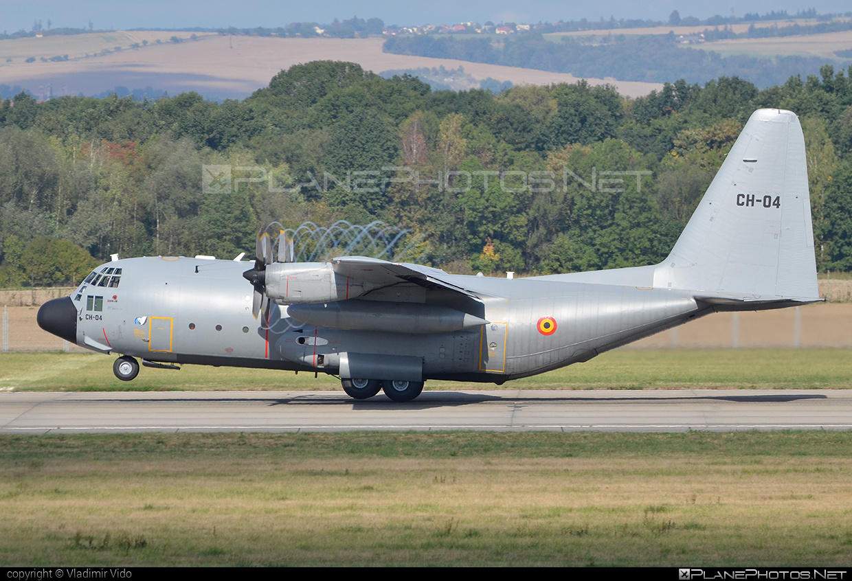 Lockheed C-130H Hercules - CH-04 operated by Luchtcomponent (Belgian Air Force) #lockheed #natodays #natodays2015