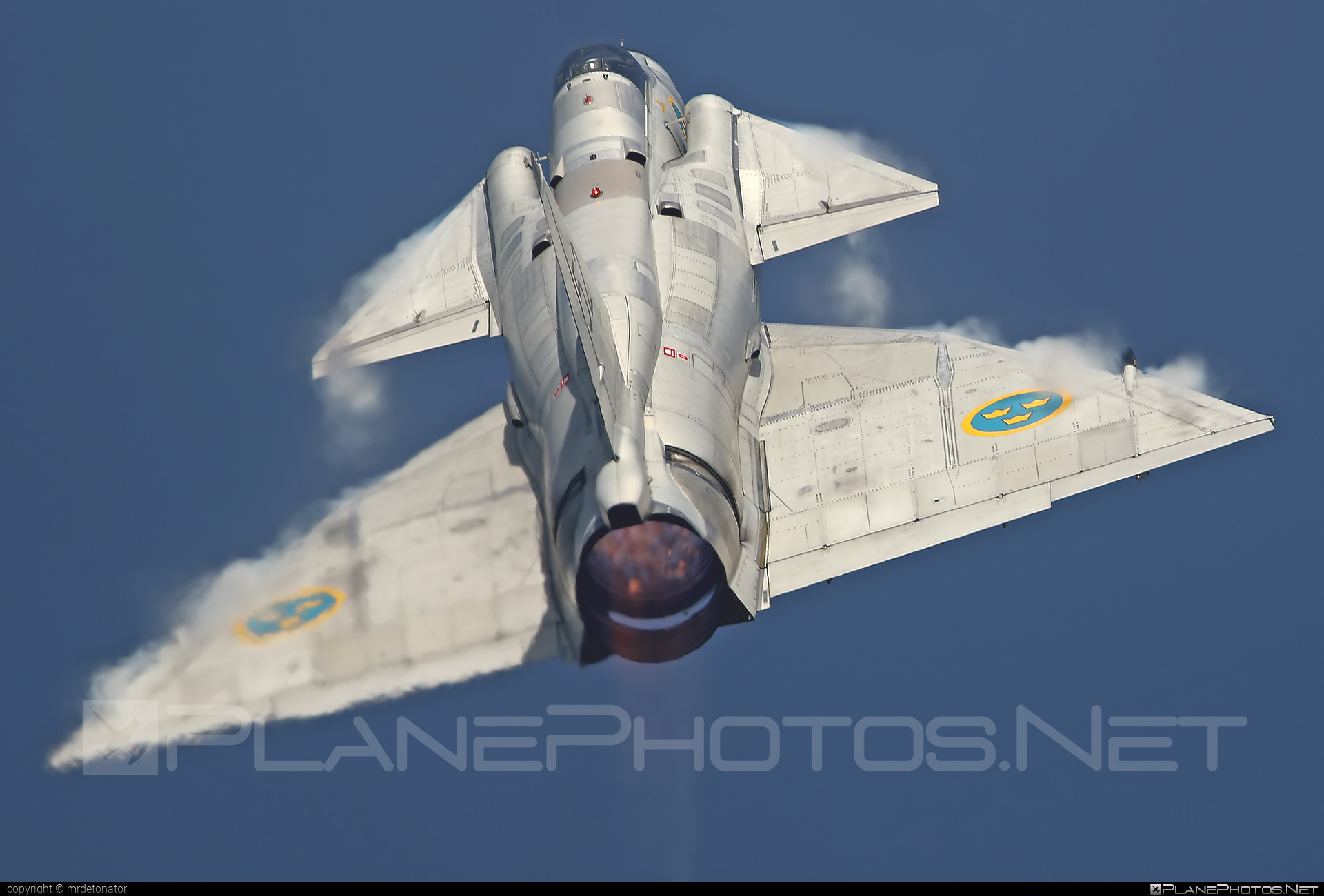 Saab AJSF 37 Viggen - SE-DXN operated by Swedish Air Force Historic Flight #ajsf37 #ajsf37viggen #natodays #natodays2015 #saab #saab37 #saabajsf37 #saabajsf37viggen #saabviggen #viggen