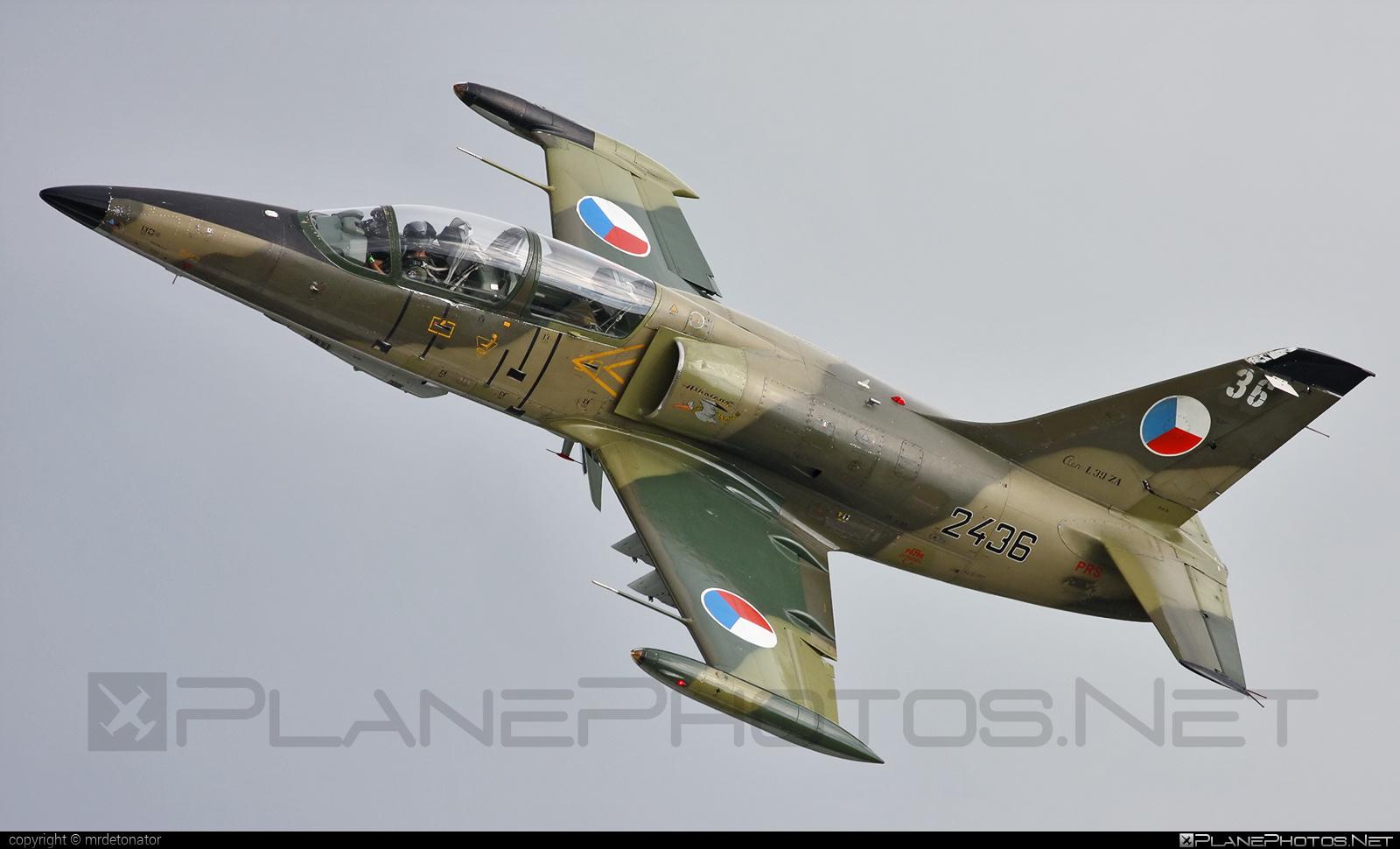 Aero L-39ZA Albatros - 2436 operated by Vzdušné síly AČR (Czech Air Force) #aero #aerol39 #aerol39albatros #aerol39zaalbatros #albatros #czechairforce #l39 #l39za #l39zaalbatros #vzdusnesilyacr