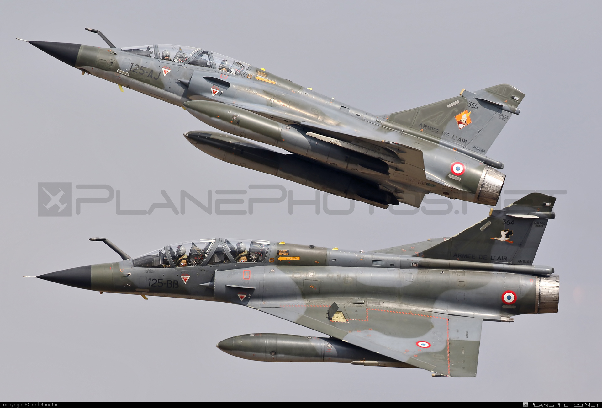 Dassault Mirage 2000N - 350 operated by Armée de l´Air (French Air Force) #armeedelair #dassault #frenchairforce #natodays #natodays2015