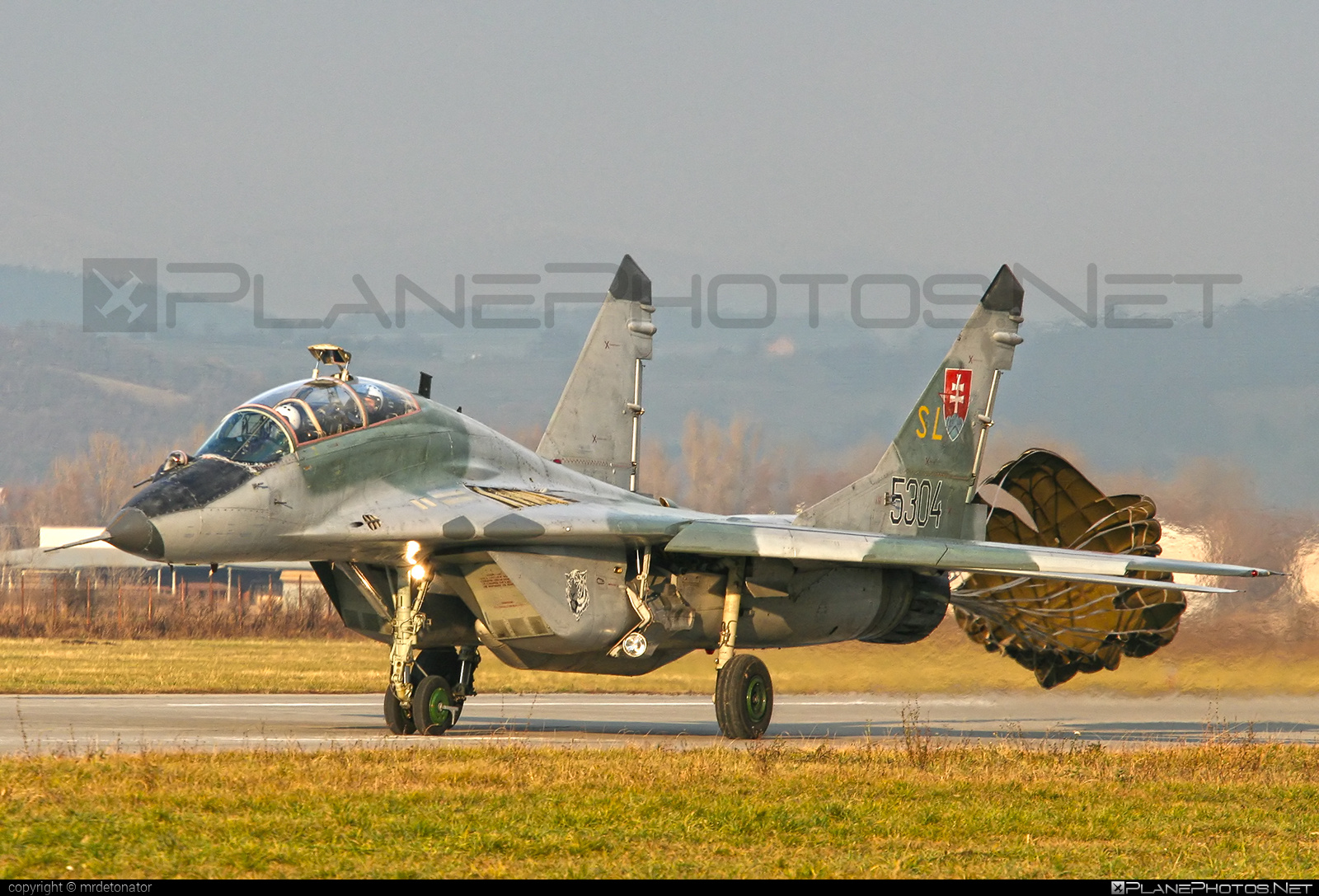 Mikoyan-Gurevich MiG-29UBS - 5304 operated by Vzdušné sily OS SR (Slovak Air Force) #mig #mig29 #mig29ubs #mikoyangurevich #slovakairforce #vzdusnesilyossr