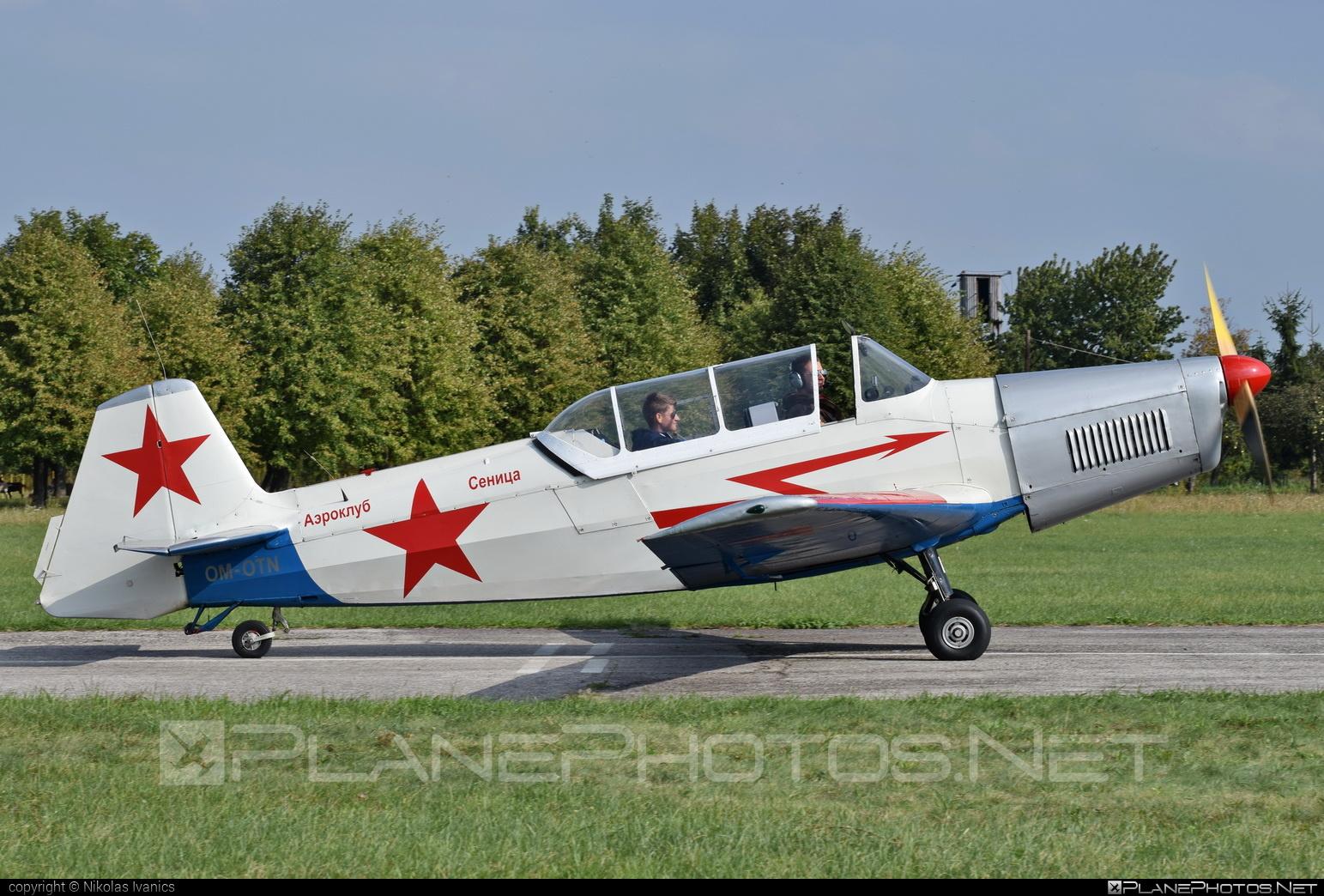 Zlin Z-326M Trenér Master - OM-OTN operated by Záhorácky aeroklub Senica #trenermaster #z326 #z326trenermaster #zlin #zlin326