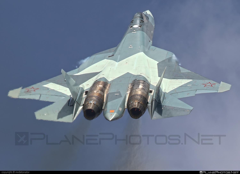 Sukhoi T-50 - 054 operated by Sukhoi Design Bureau #su57 #sukhoi #sukhoi57 #sukhoit50 #t50