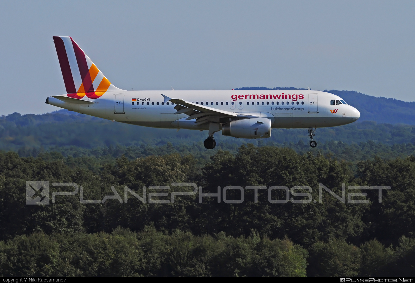 Airbus A319-132 - D-AGWI operated by Germanwings #a319 #a320family #airbus #airbus319