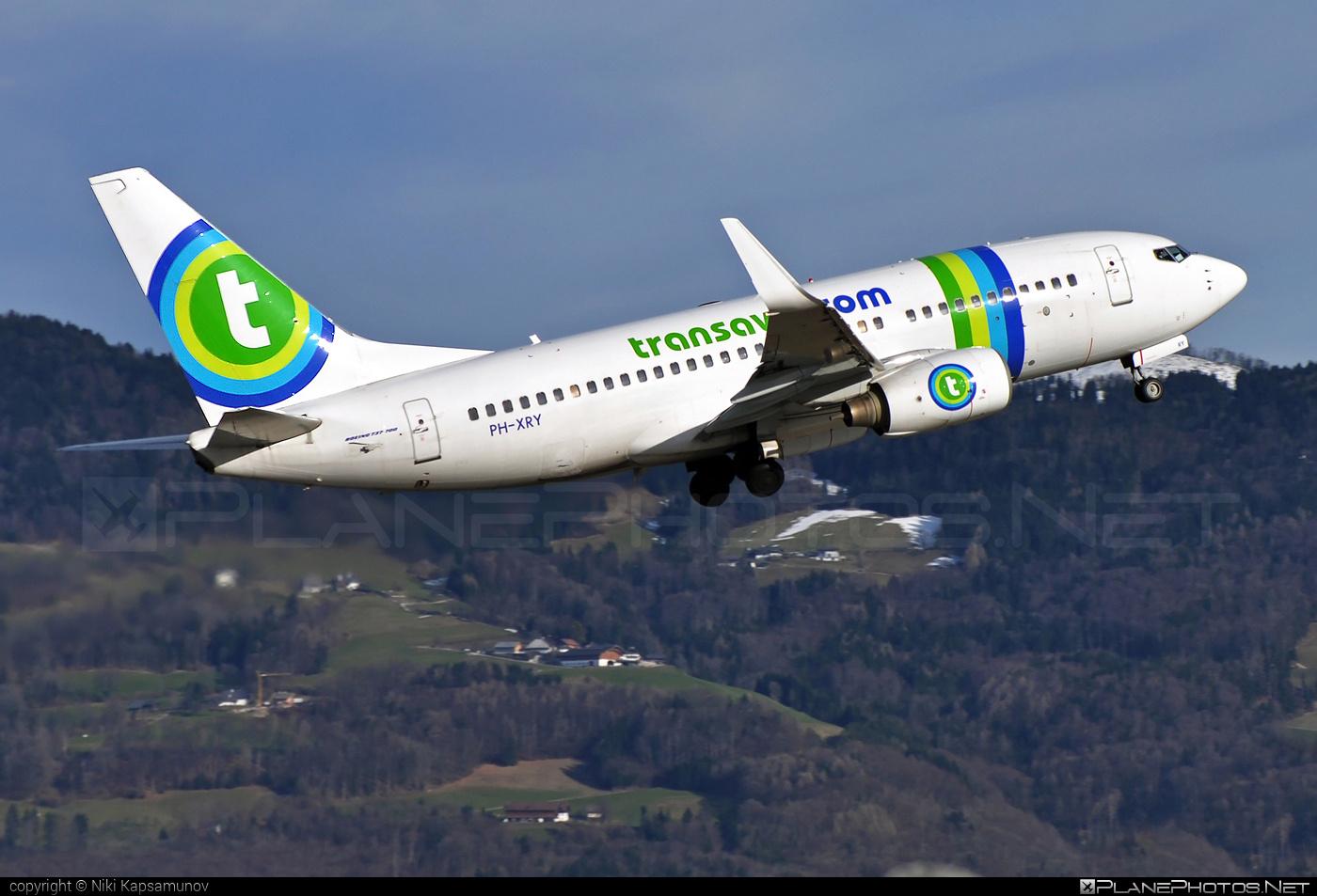 Transavia Airlines Boeing 737-700 - PH-XRY #b737 #b737nextgen #b737ng #boeing