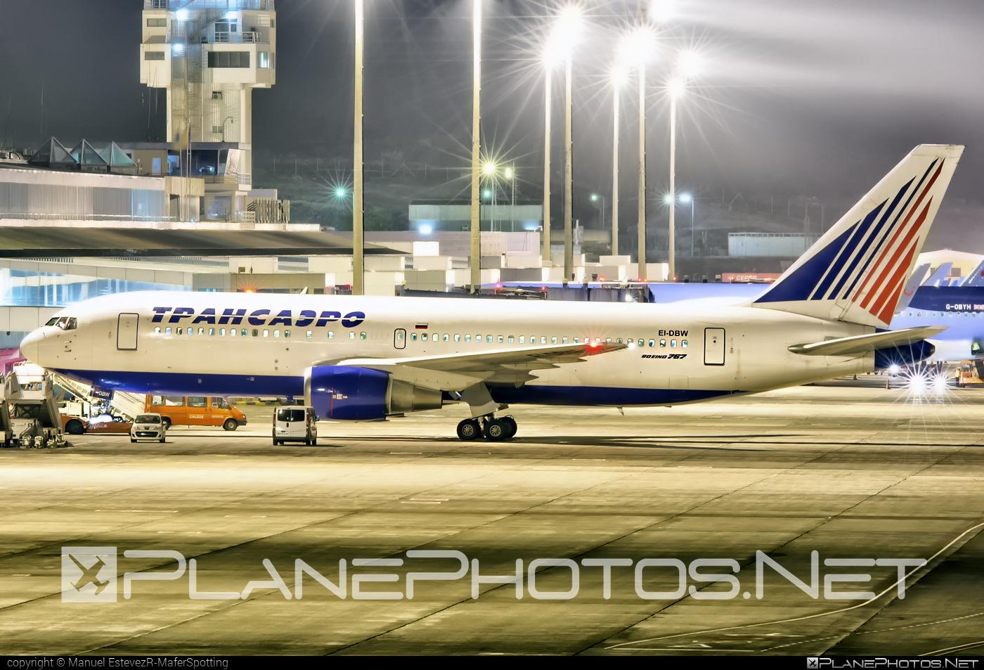 Boeing 767-200ER - EI-DBW operated by Transaero Airlines #b767 #b767er #boeing #boeing767