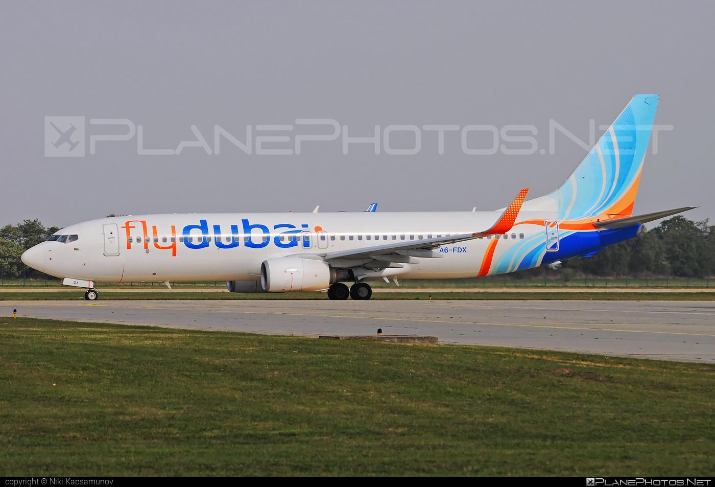 Boeing 737-800 - A6-FDX operated by flydubai #b737 #b737nextgen #b737ng #boeing #boeing737