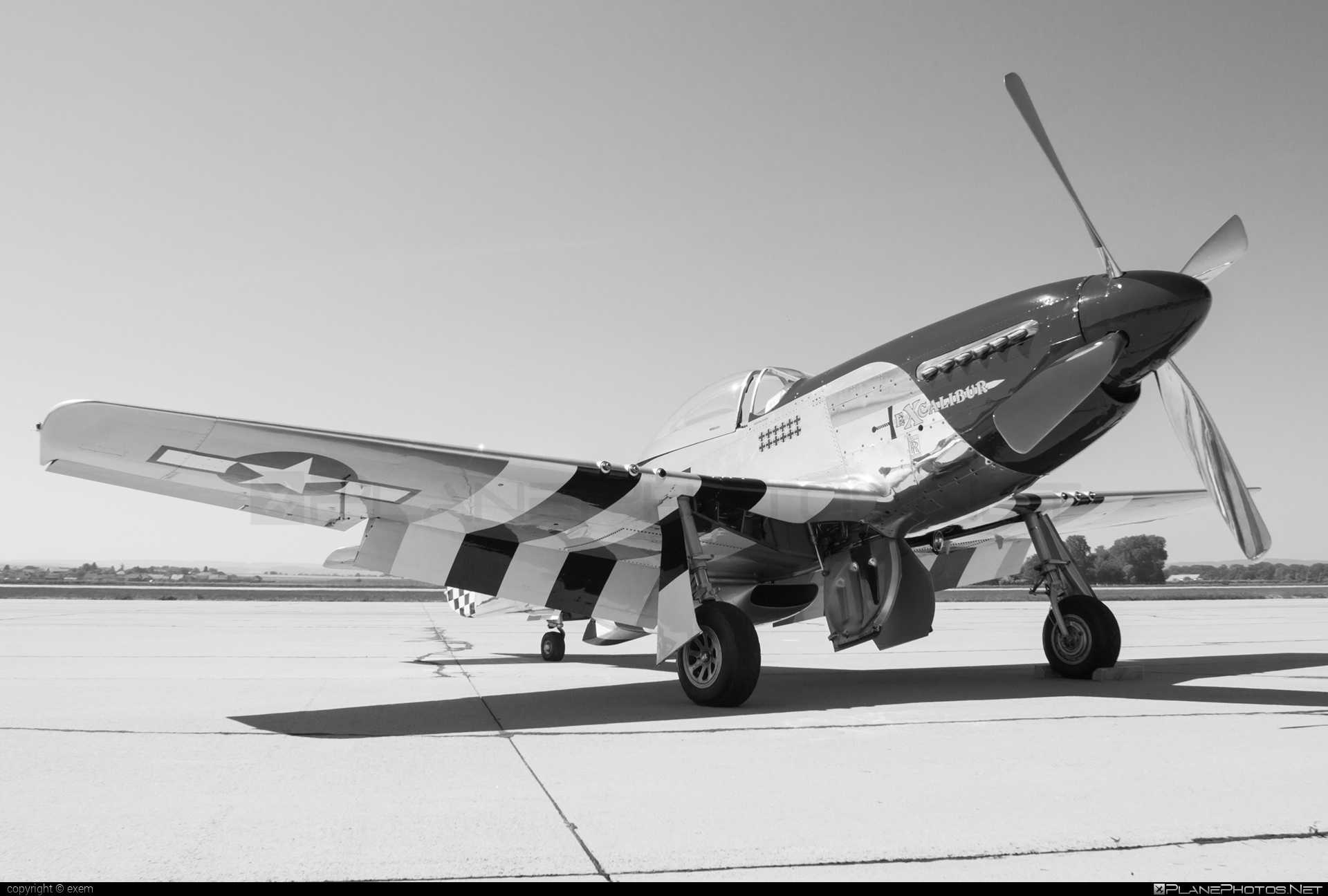 North American P-51D Mustang - N151W operated by Private operator #northamerican