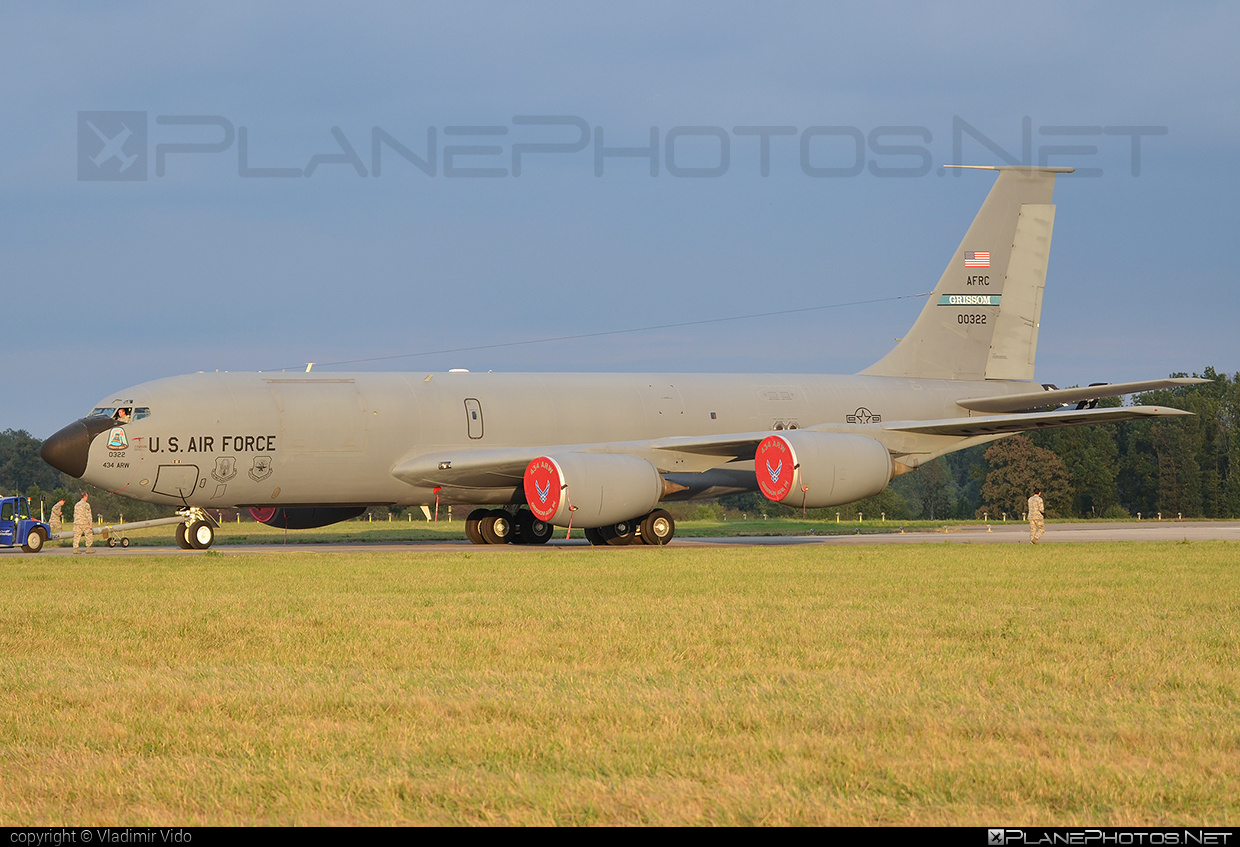 Boeing KC-135R Stratotanker - 60-0322 operated by US Air Force (USAF) #boeing #natodays #natodays2015 #usaf #usairforce