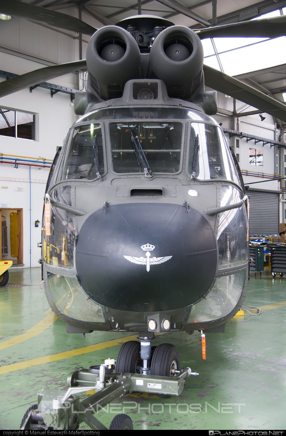 Aerospatiale AS332 B1 Super Puma - HU.21-12 operated by Ejército de Tierra (Spanish Army) #aerospatiale #as332 #as332b1 #superpuma