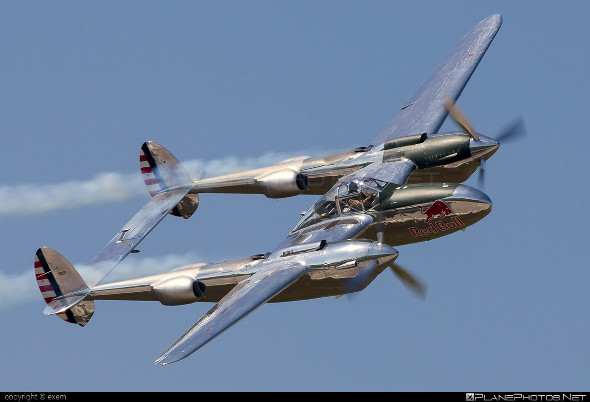 Lockheed P-38L Lightning - N25Y operated by The Flying Bulls #lockheed #theflyingbulls
