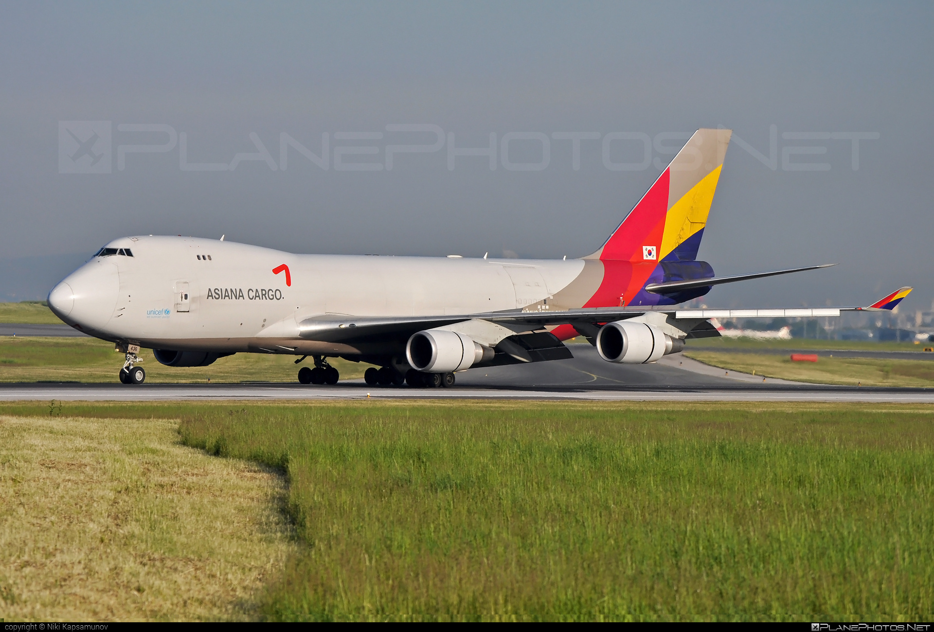 Boeing 747-400F - HL7436 operated by Asiana Cargo #asianacargo #b747 #boeing #boeing747 #jumbo