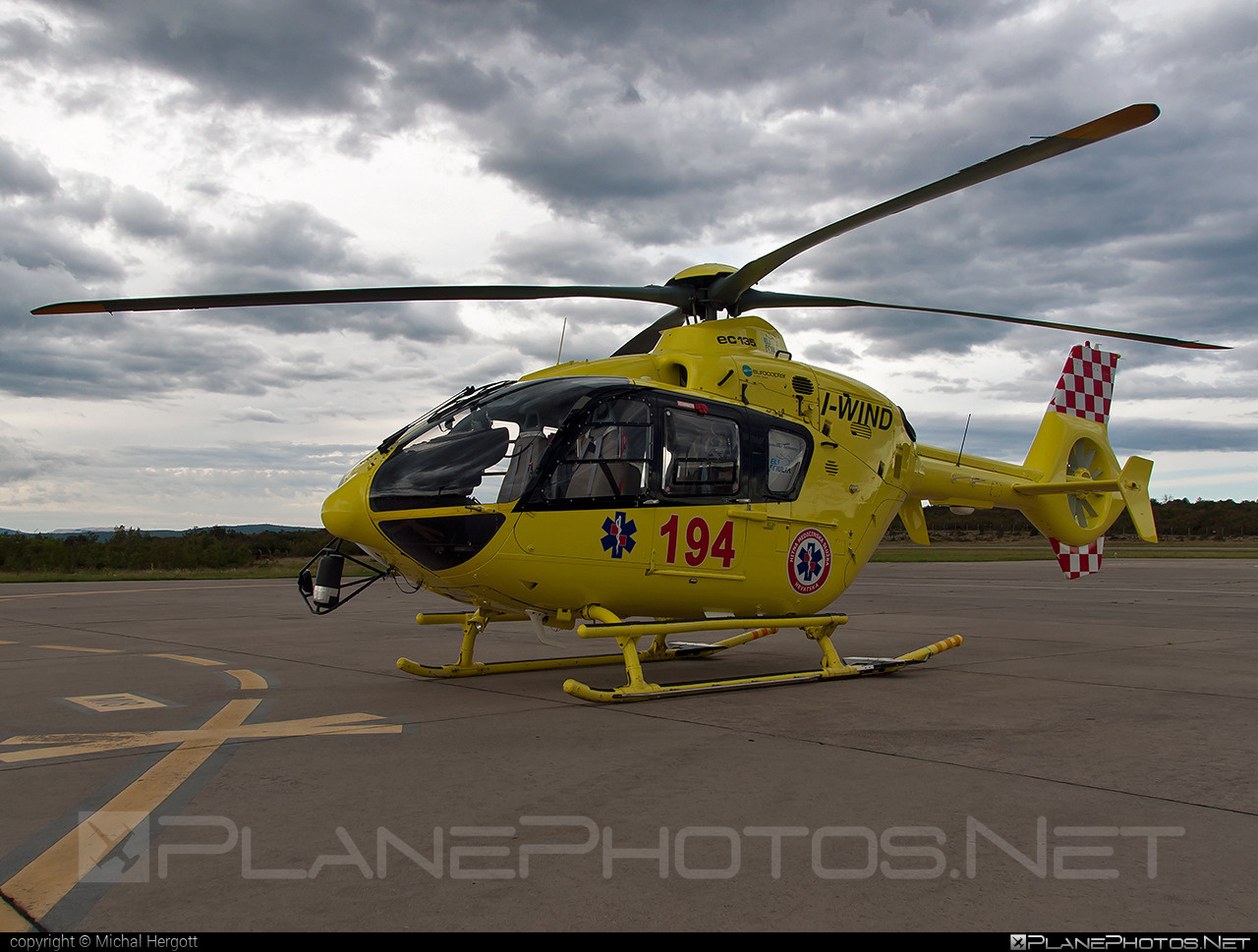 Eurocopter EC135 T2+ - I-WIND operated by EliFriulia #ec135 #ec135t2 #ec135t2plus #eurocopter
