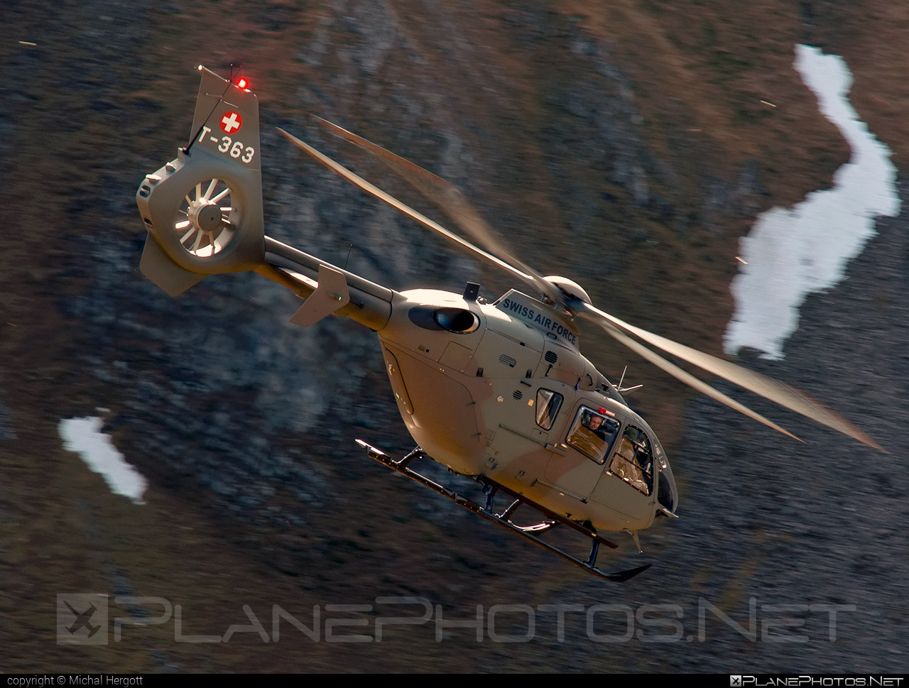 Eurocopter EC635 P2+ - T-363 operated by Schweizer Luftwaffe (Swiss Air Force) #eurocopter