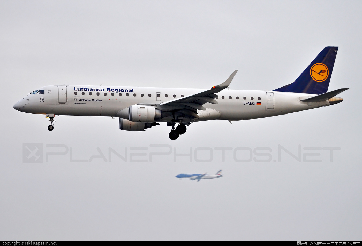 Embraer 190-100LR - D-AECI operated by Lufthansa Regional (CityLine) #e190 #embraer #embraer190 #embraer190lr