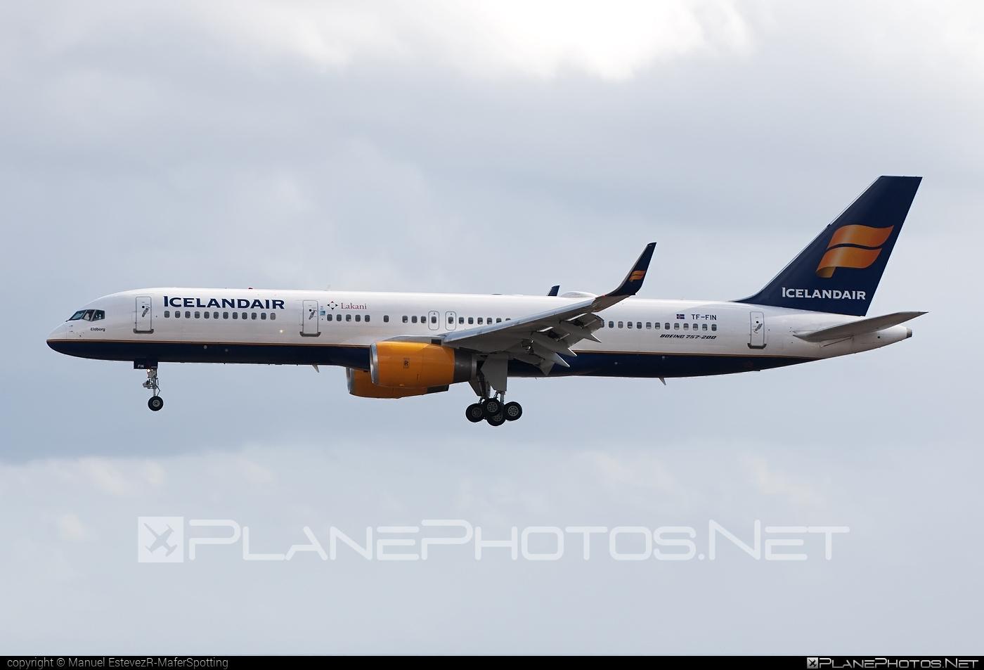 Boeing 757-200 - TF-FIN operated by Icelandair #b757 #boeing #boeing757 #icelandair
