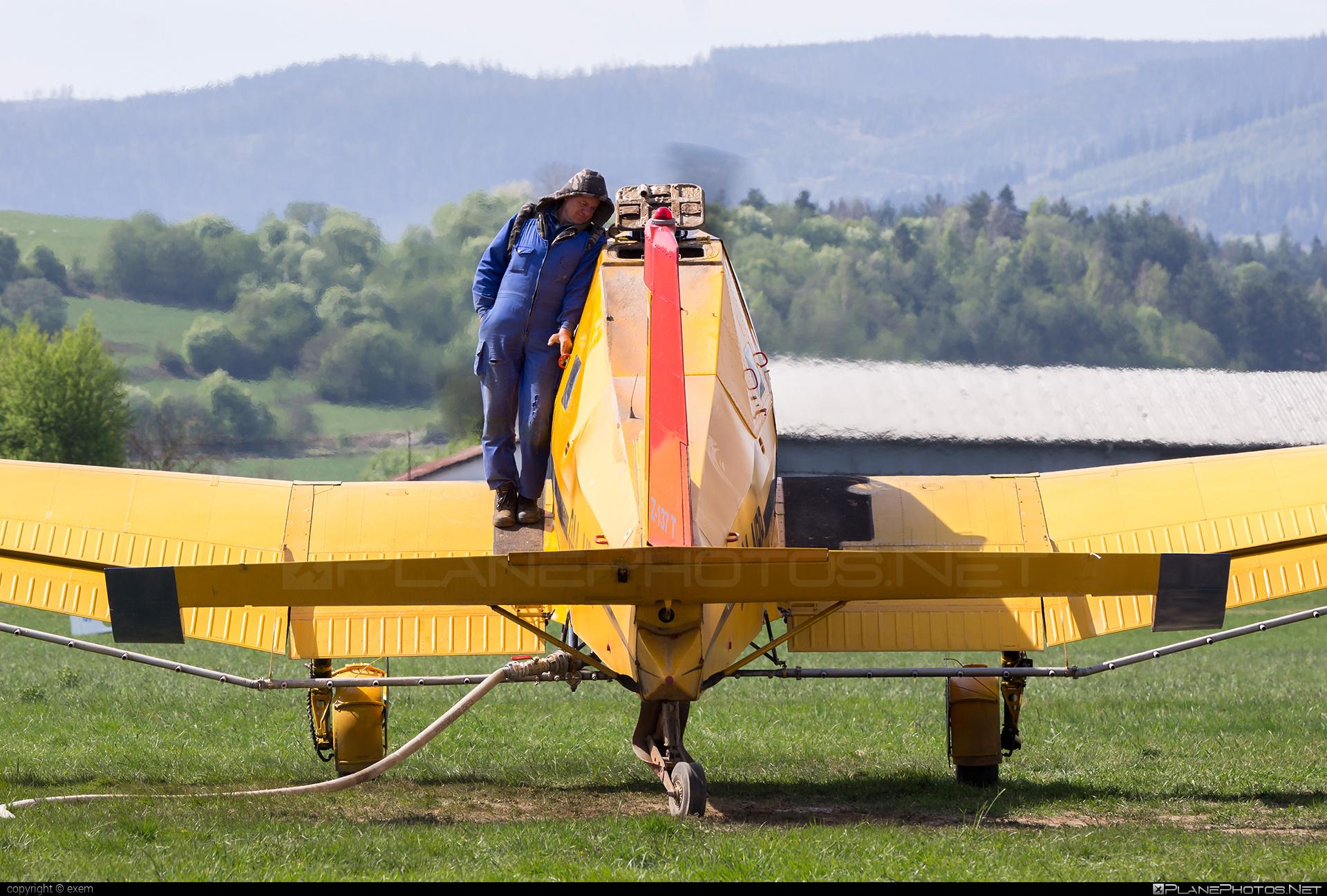 Zlin Z-137T Agro Turbo - OM-NRP operated by AERO SLOVAKIA #aeroslovakia #agroturbo #z137t #zlin #zlin137agroturbo #zlin137t