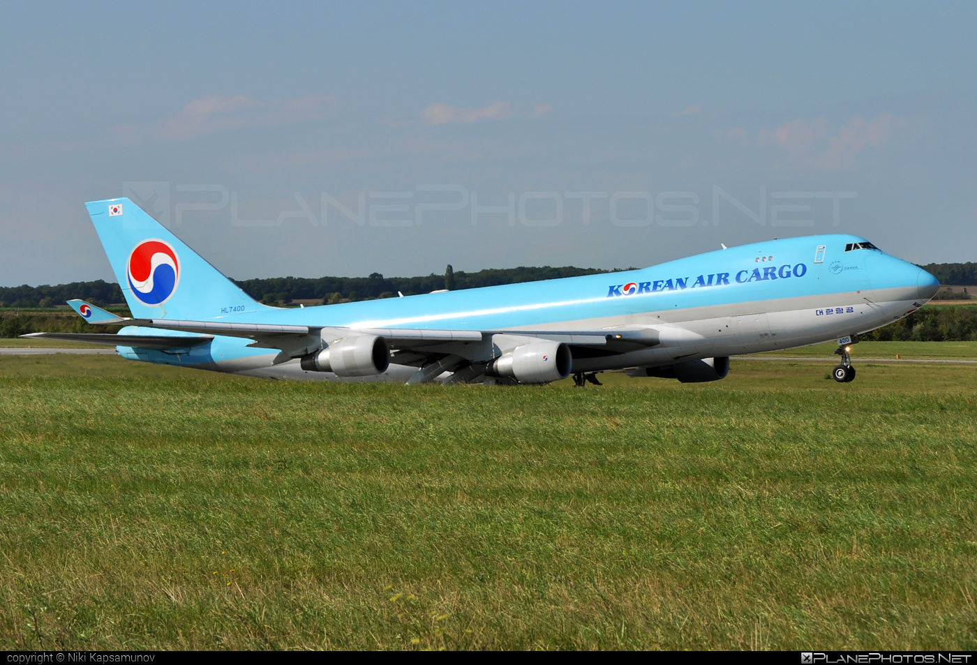 Boeing 747-400F - HL7400 operated by Korean Air Cargo #b747 #boeing #boeing747 #jumbo #koreanair #koreanaircargo