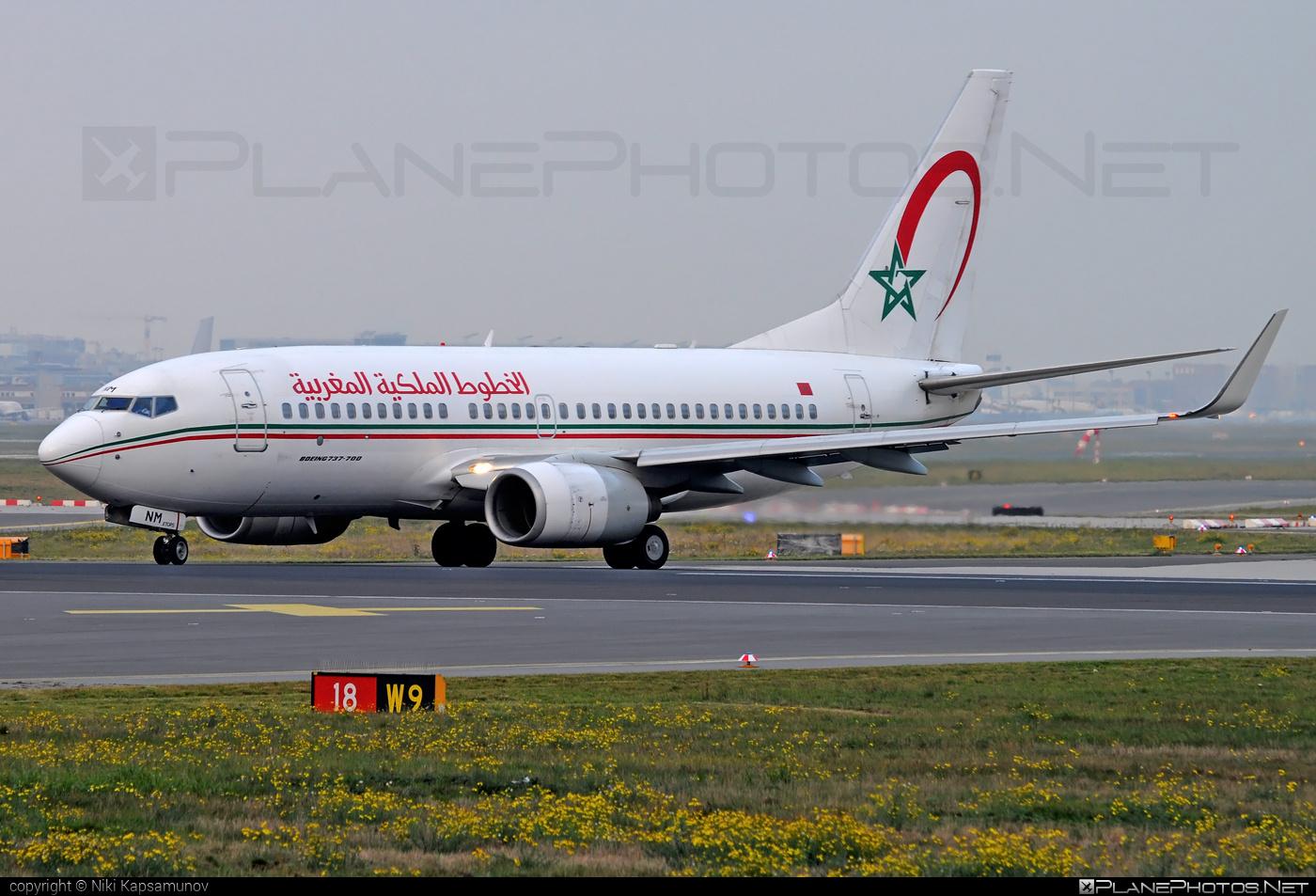 Boeing 737-700 - CN-RNM operated by Royal Air Maroc (RAM) #b737 #b737nextgen #b737ng #boeing #boeing737 #royalairmaroc