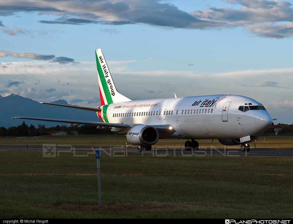 Boeing 737-400 - D-AGMR operated by Air Italy #b737 #boeing #boeing737