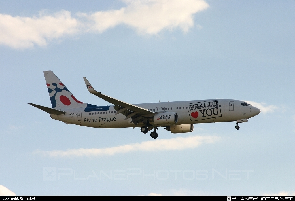 Boeing 737-800 - OK-TVB operated by Travel Service #b737 #b737nextgen #b737ng #boeing #boeing737 #travelservice