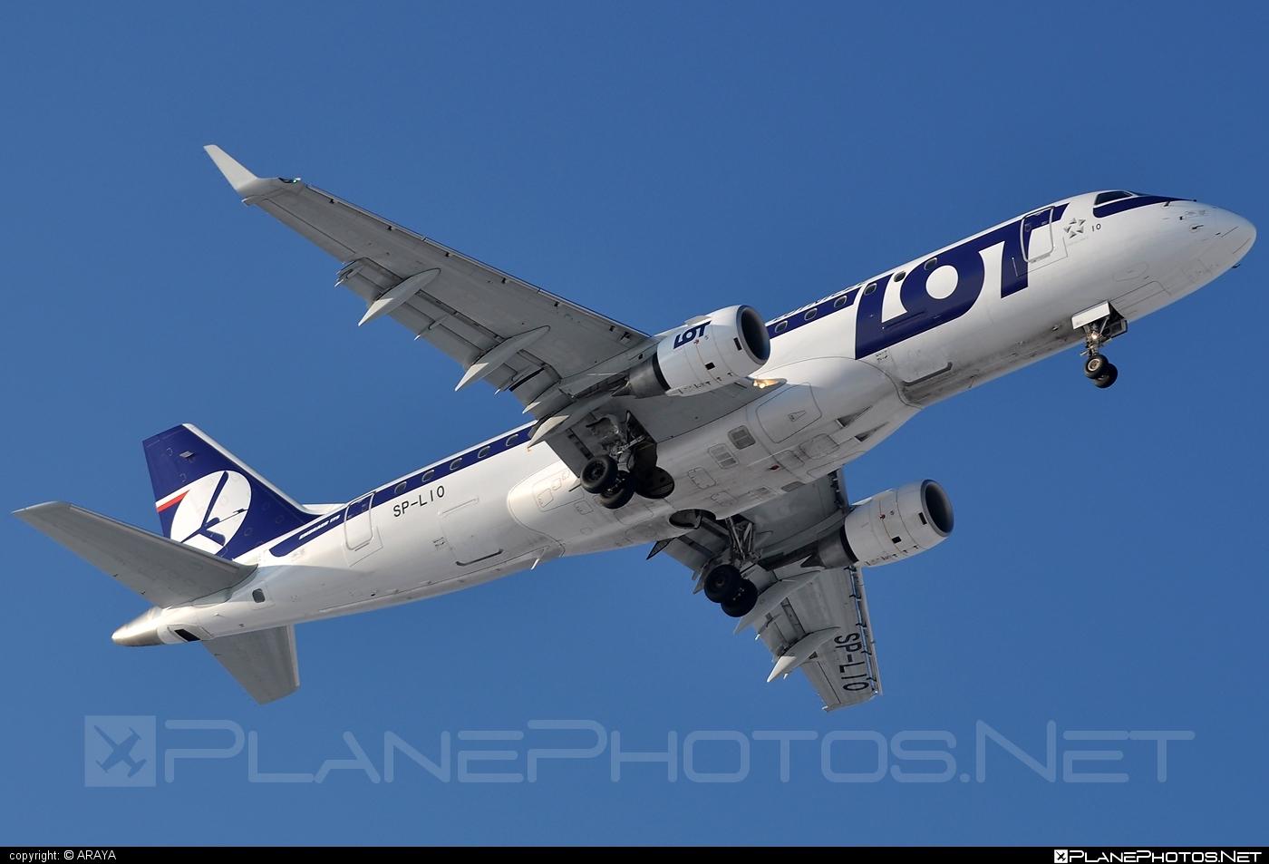 Embraer E175LR (ERJ-170-200LR) - SP-LIO operated by LOT Polish Airlines #e175 #embraer #embraer175 #embraer175lr #erj170200 #erj170200lr #erj175 #erj175lr #lot #lotpolishairlines