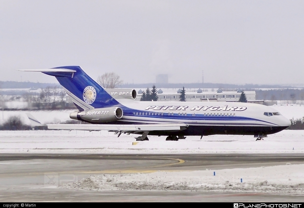 Boeing 727-100 Super 27 - VP-BPZ operated by Private operator #b727 #boeing #boeing727