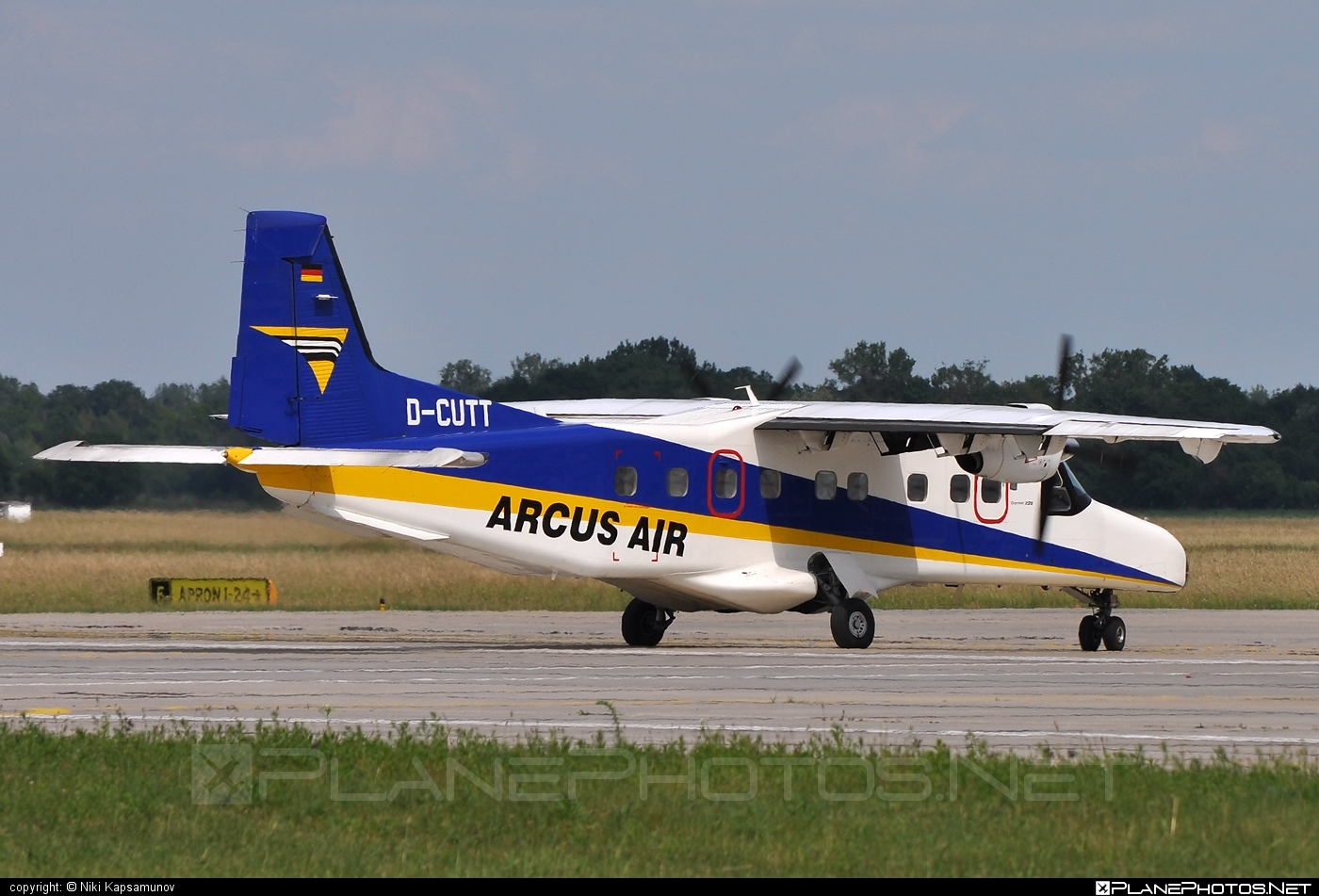 Dornier 228-212 - D-CUTT operated by Arcus-Air #dornier