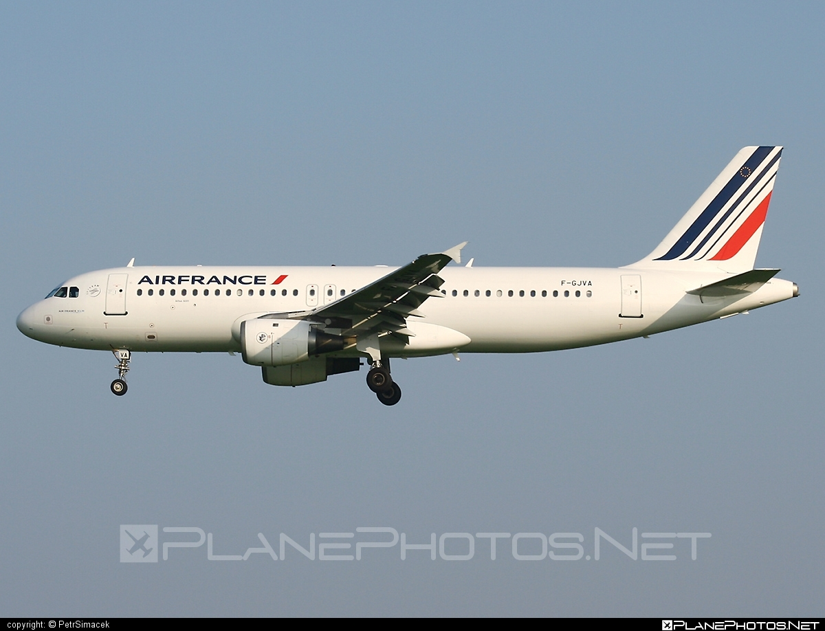 Airbus A320-211 - F-GJVA operated by Air France #a320 #a320family #airbus #airbus320 #airfrance