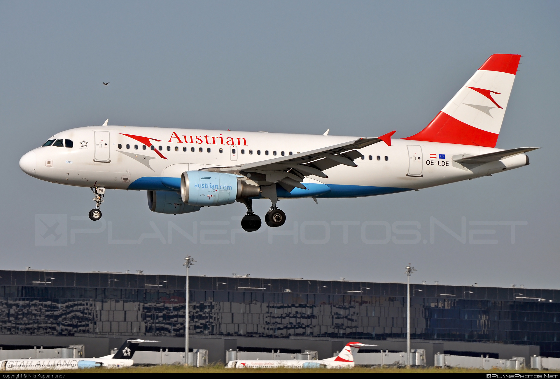 Airbus A319-112 - OE-LDE operated by Austrian Airlines #a319 #a320family #airbus #airbus319
