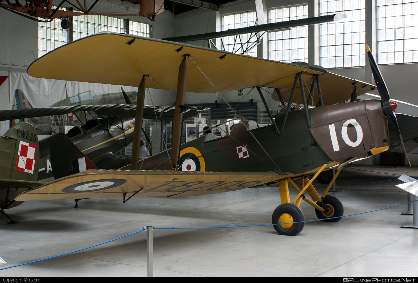 De Havilland Tiger Moth Mk.II - T-8209 operated by Royal Air Force (RAF) #dehavilland #raf #royalairforce
