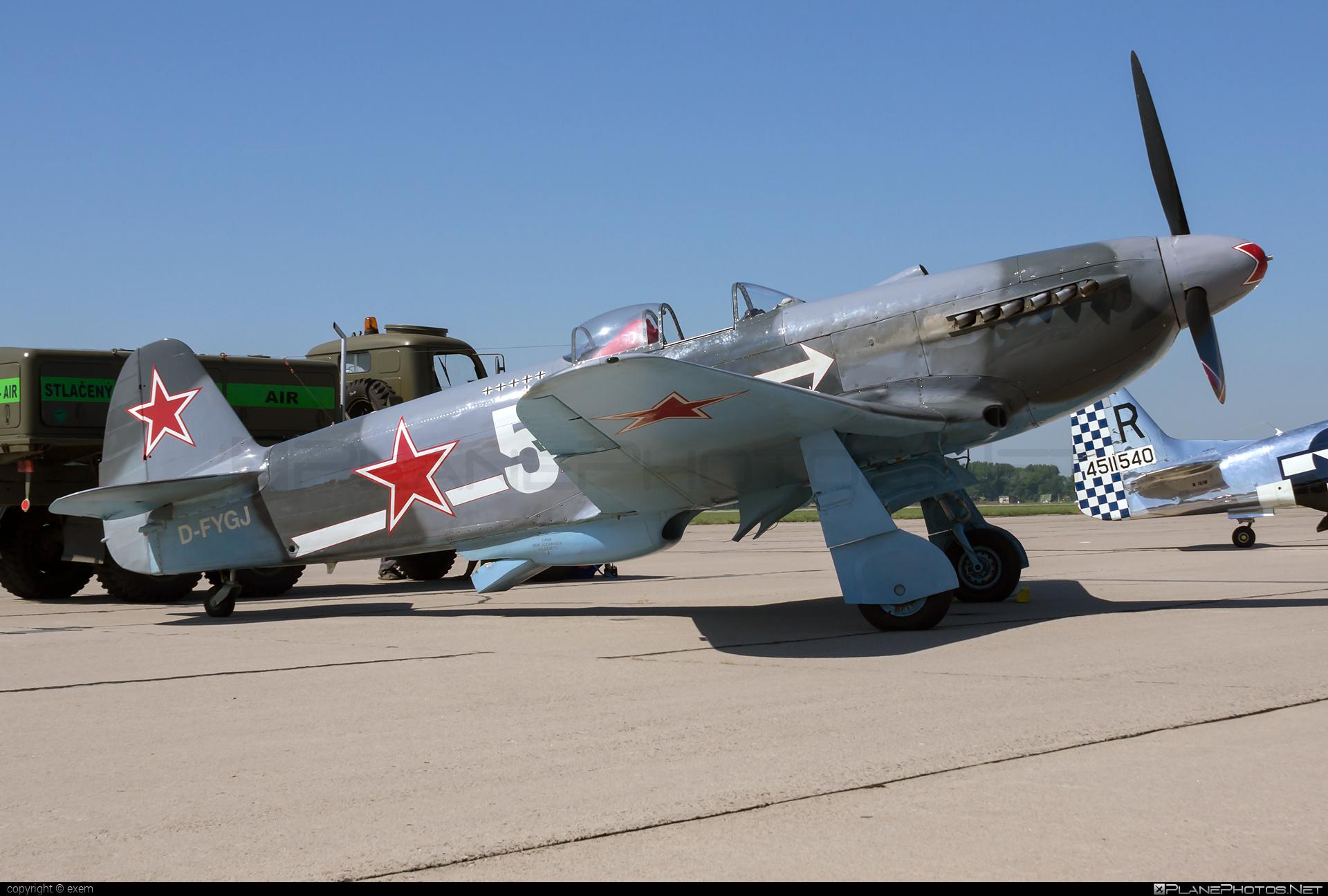 Yakovlev Yak-3UA - D-FYGJ operated by Private operator #yak #yak3 #yak3ua #yakovlev