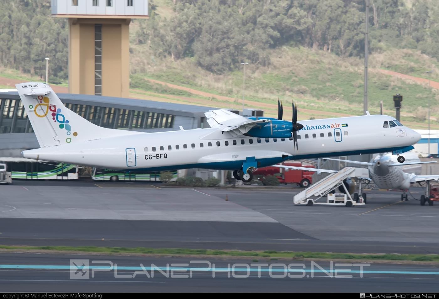 ATR 72-600 - C6-BFQ operated by Bahamasair #atr