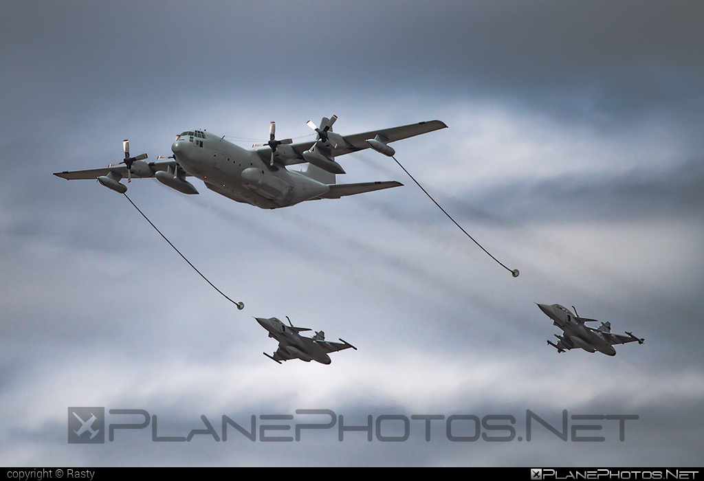 Flygvapnet (Swedish Air Force) Lockheed Tp84 Hercules - 84002 #flygvapnet #lockheed #natodays #natodays2015 #swedishairforce