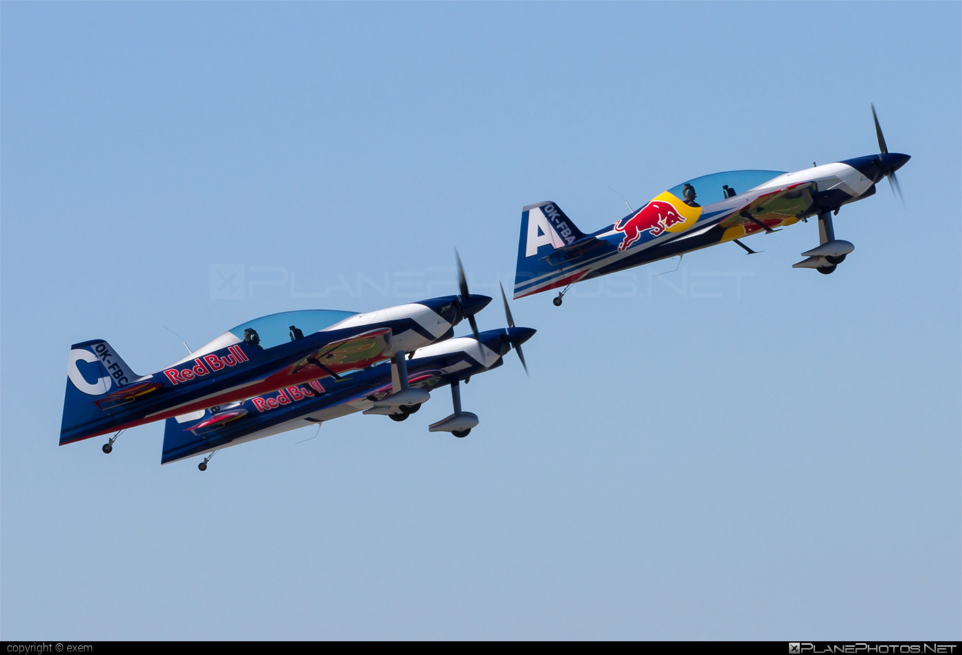 XtremeAir XA42 Sbach 342 - OK-FBA operated by The Flying Bulls Aerobatic Team #sbach #sbach342 #theflyingbullsaerobaticteam #xa42 #xtremeair