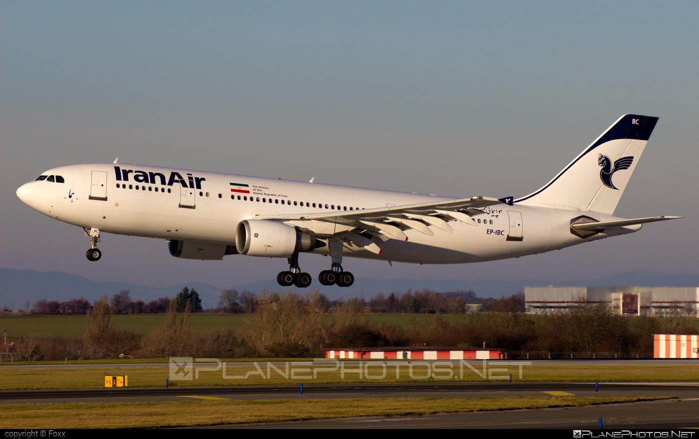 Airbus A300B4-605R - EP-IBC operated by Iran Air #a300 #airbus