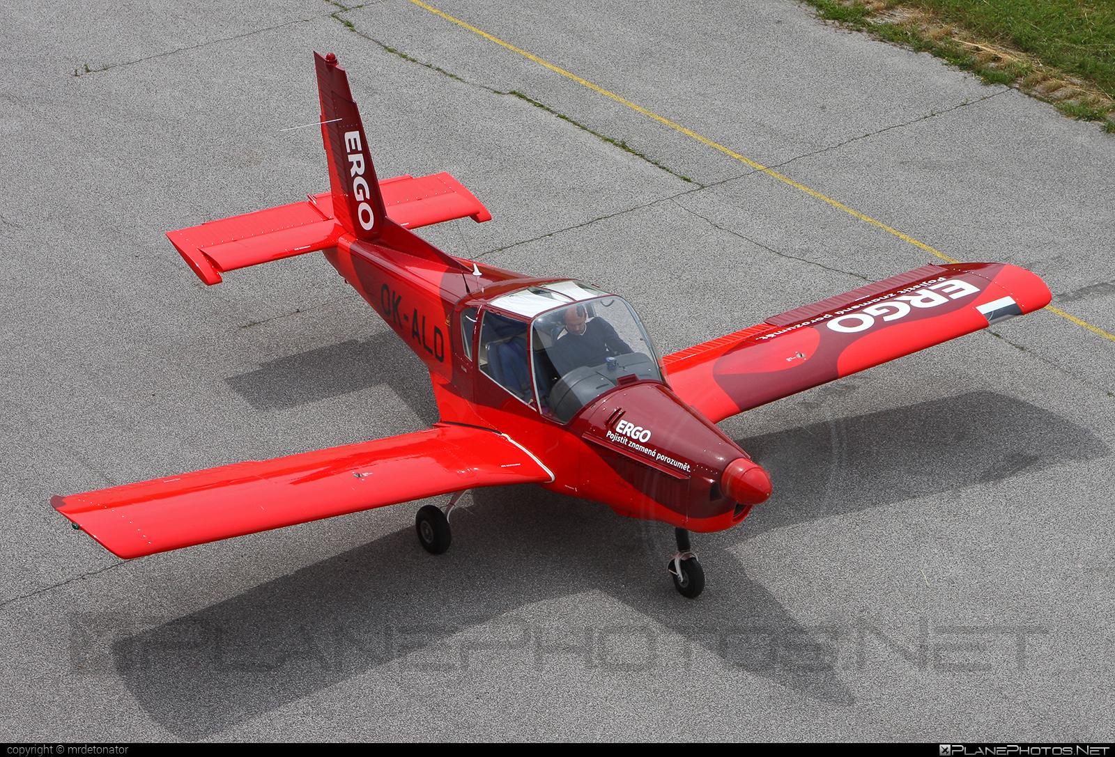 Zlin Z-42M - OK-ALD operated by Blue Sky Service #z42 #z42m #zlin #zlin42