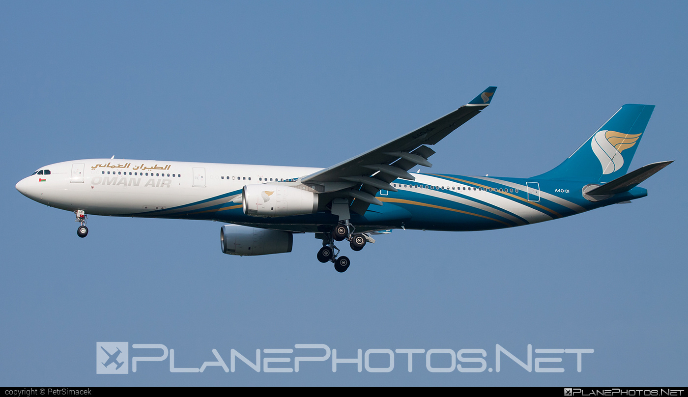 Airbus A330-343 - A4O-DI operated by Oman Air #a330 #a330family #airbus #airbus330