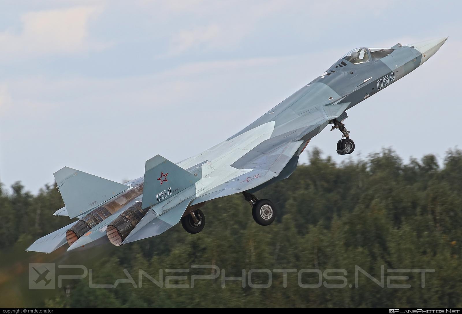 Sukhoi T-50 - 054 operated by Sukhoi Design Bureau #maks2015 #su57 #sukhoi #sukhoi57 #sukhoit50 #t50