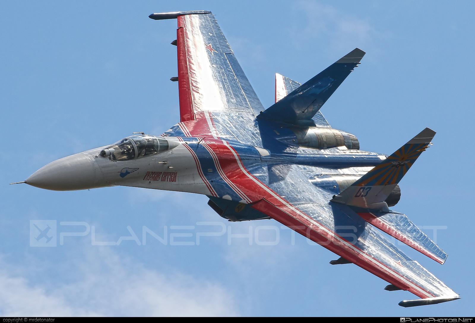 Sukhoi Su-27P - 03 operated by Voyenno-vozdushnye sily Rossii (Russian Air Force) #maks2015 #su27 #su27p #sukhoi #sukhoi27