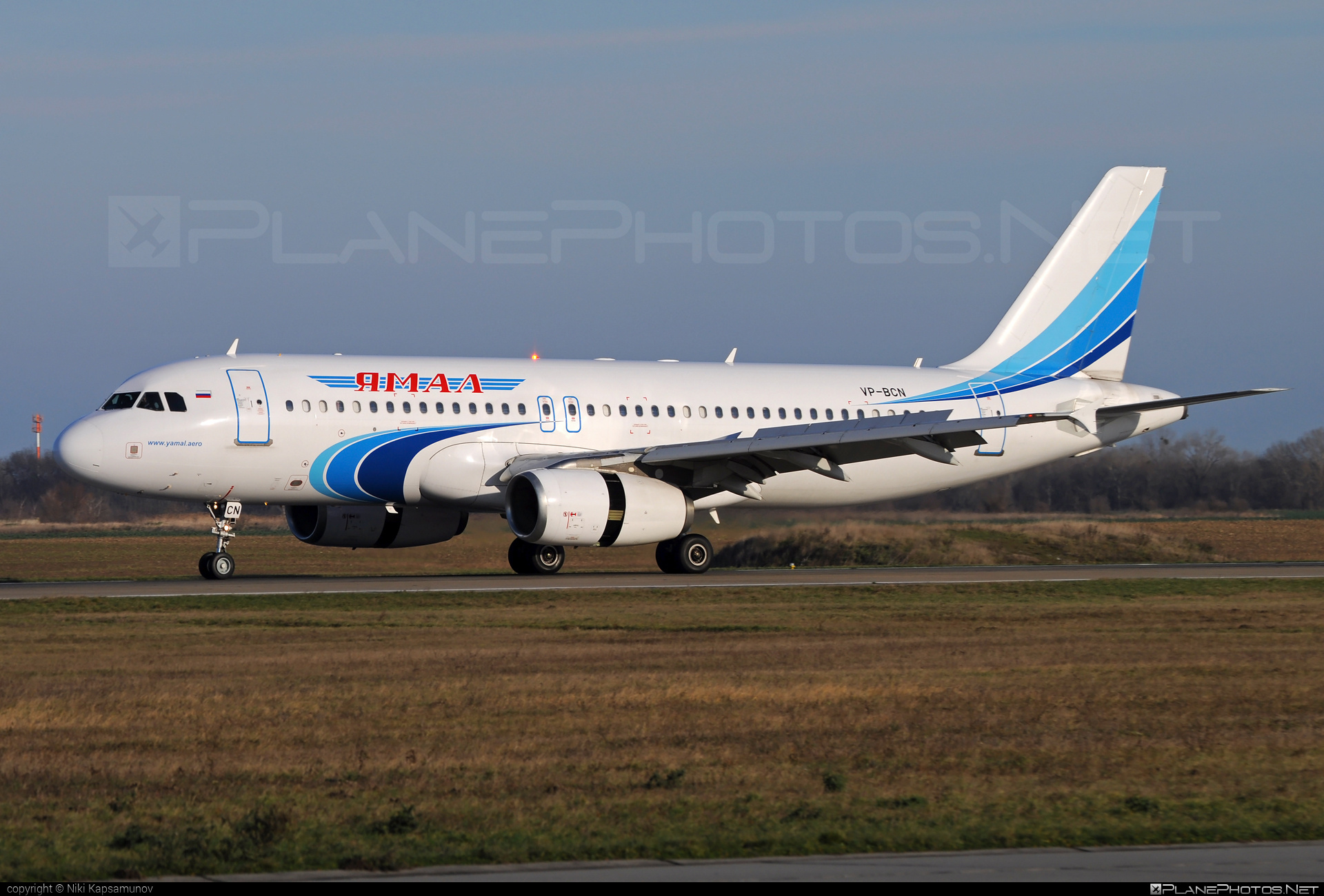 Airbus A320-232 - VP-BCN operated by Yamal Airlines #a320 #a320family #airbus #airbus320