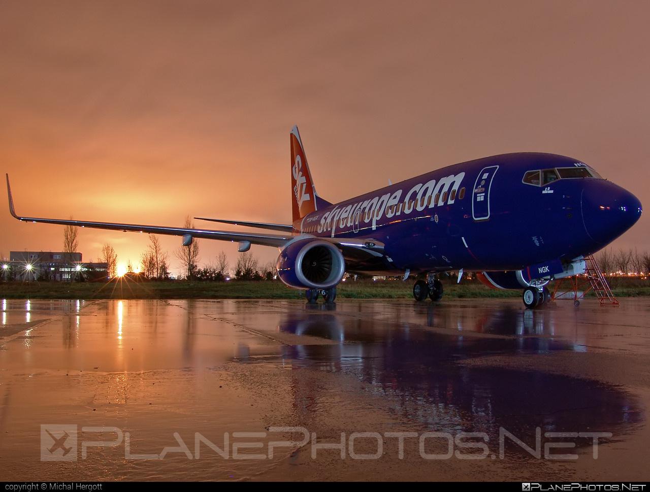 Boeing 737-700 - OM-NGK operated by SkyEurope Airlines #b737 #b737nextgen #b737ng #boeing #boeing737