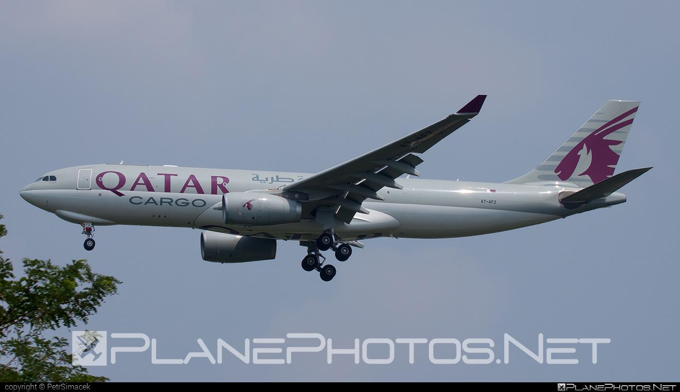 Airbus A330-243F - A7-AFZ operated by Qatar Airways Cargo #a330 #a330f #a330family #airbus #airbus330 #qatarairwayscargo