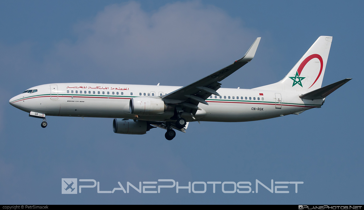 Boeing 737-800 - CN-RGK operated by Royal Air Maroc (RAM) #b737 #b737nextgen #b737ng #boeing #boeing737 #royalairmaroc