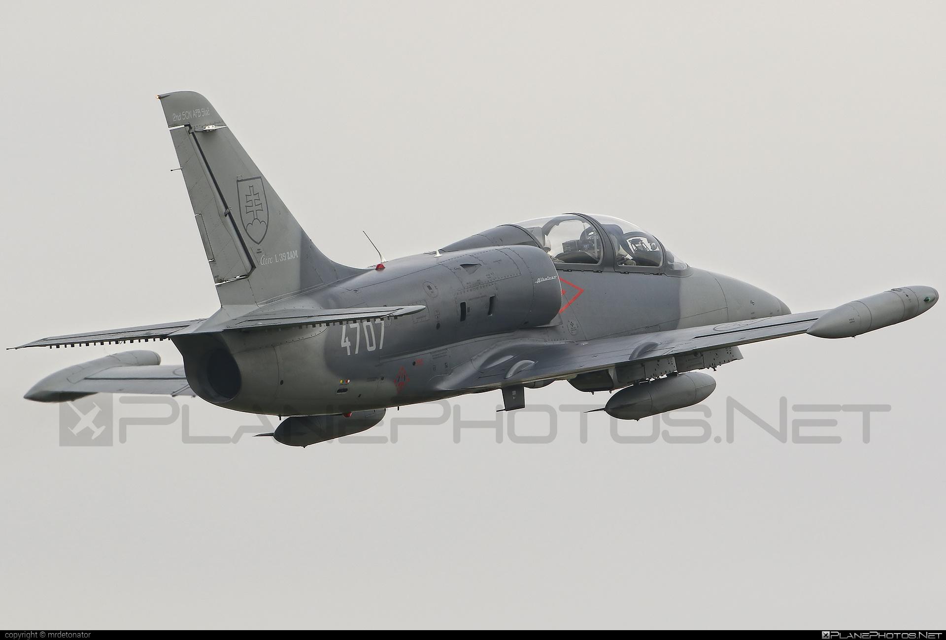 Aero L-39ZAM Albatros - 4707 operated by Vzdušné sily OS SR (Slovak Air Force) #aero #slovakairforce #vzdusnesilyossr