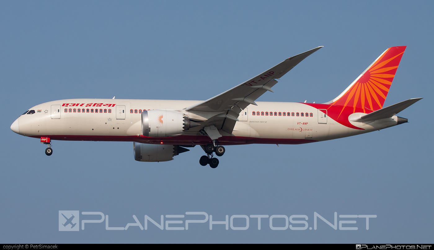 Boeing 787-8 Dreamliner - VT-ANP operated by Air India #b787 #boeing #boeing787 #dreamliner