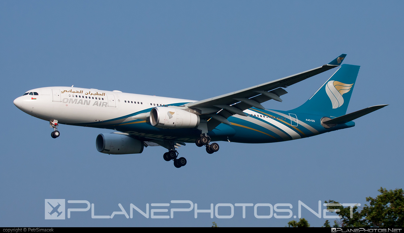 Airbus A330-243 - A4O-DG operated by Oman Air #a330 #a330family #airbus #airbus330