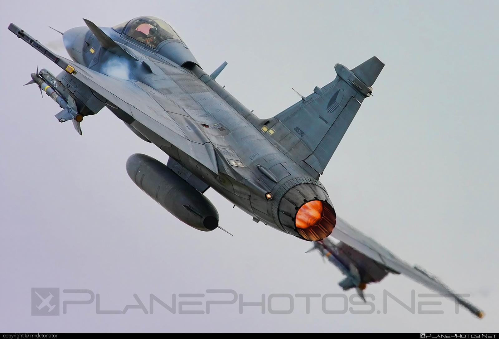 Saab JAS 39C Gripen - 9236 operated by Vzdušné síly AČR (Czech Air Force) #czechairforce #gripen #jas39 #jas39c #jas39gripen #saab #vzdusnesilyacr