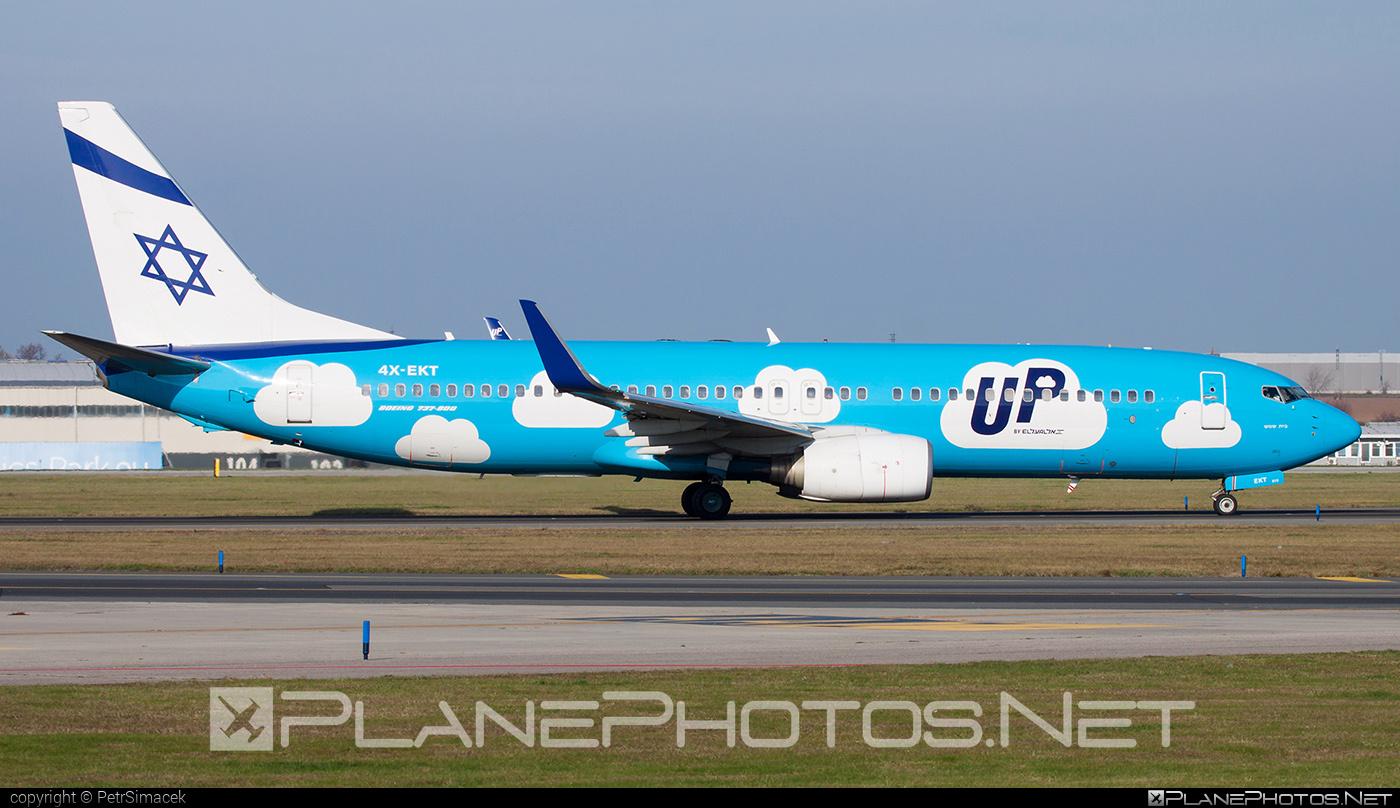 Boeing 737-800 - 4X-EKT operated by El Al Israel Airlines #b737 #b737nextgen #b737ng #boeing #boeing737 #elal #elalisraelairlines #israelairlines